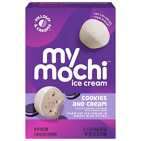 My/Mo Ice Crm Mochi Cookie Crm - 6 Count