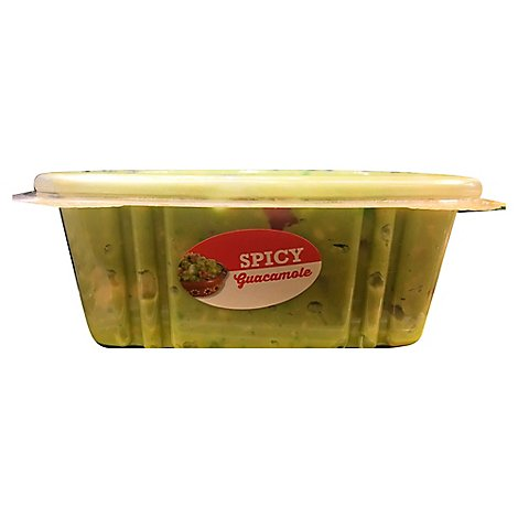 Spicy Guacamole - 14 Oz