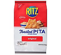 Wheat Thins Crackers Oven Baked Toasted Pita Original - 8 Oz