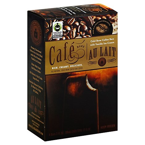 American Cold Brew Cafe Bars Au Lait - 4-3 Fl. Oz.