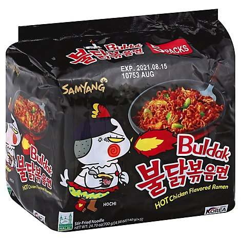 Samyang Spicy Chicken Ramen -5pk - 24.65 Oz