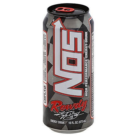 NOS Energy Drink Power Punch - 16 Fl. Oz.