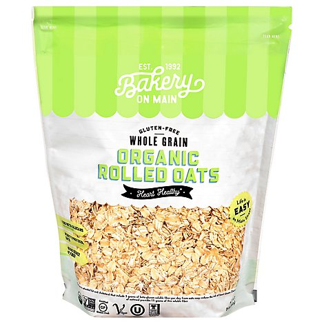 Bakery On Main Oats Rolled Organic - 24 Oz