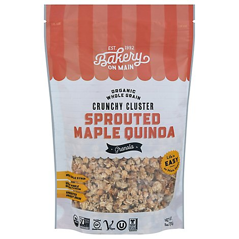 Bakery On Main Organic Happy Granola Sprouted Grains Maple Quinoa - 11 Oz