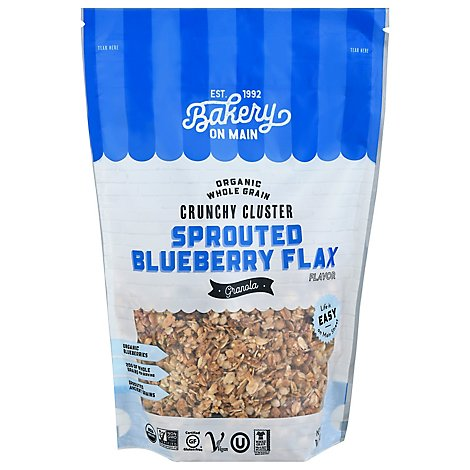 Bakery On Main Organic Happy Granola Sprouted Grains Blueberry - 11 Oz