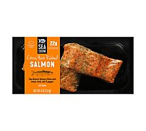 Sea Cuisine Fish Salmon Citrus Herb Rubbed Frozen - 8 Oz