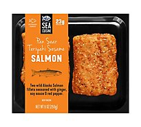 Sea Cuisine Pan Sear Teriyaki Sesame Salmon - 9 Oz
