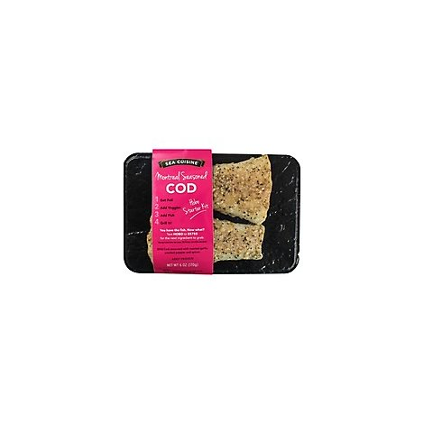 Sea Cuisine Cod Montreal Seasoned Hobo Pack - 6 Oz