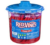 Red Vines Licorice Twists Original Red Jar - 3.5 Lb