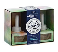 Glade Atmosphere Collection PlugIns Scented Oil Jasmine Cedarwood No.1 - 2-0.75 Fl. Oz.