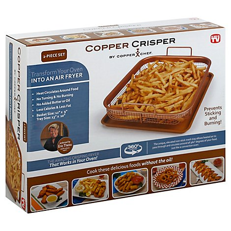 Asotv Copper Crisper By Copper Chef - Each