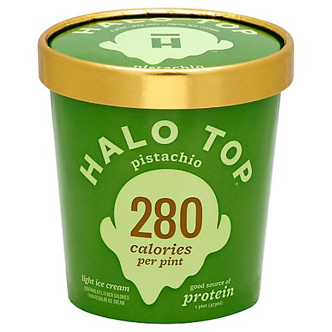 Halo Top Ice Cream Pistachio - 1 Pint