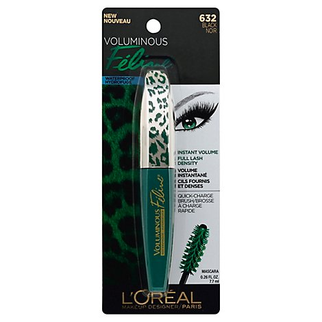 Loreal Vol Feline Wtp Black - Each