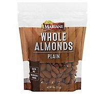 Mariani Whole Natural Snack Almonds - 8 Oz