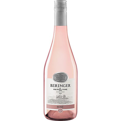 Beringer Main & Vine Wine Dry Rose - 750 Ml