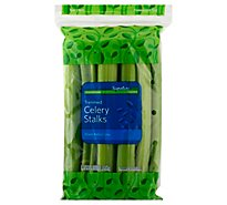 Signature Farms Celery Stalks Trimmed Washed - 1 Lb