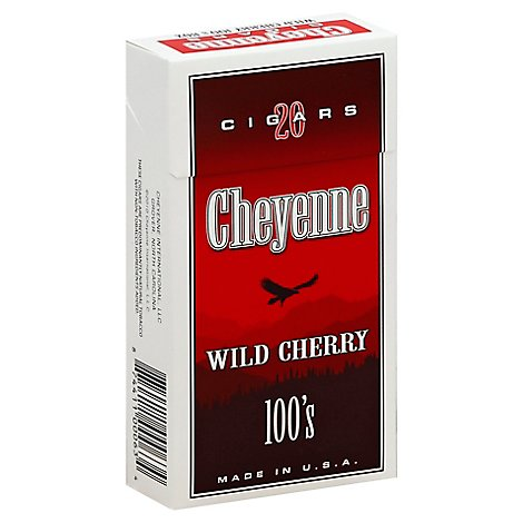 Cheyenne Wild Cherry Cigars - 20 Count