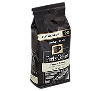 Peets Coffee Coffee Whole Bean Deep Roast French Roast - 20 Oz