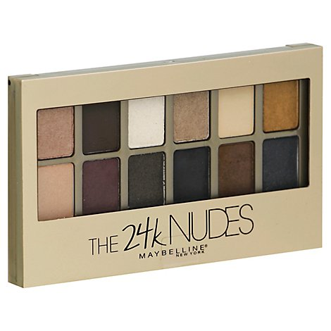 Maybe Nudes Shadow Palette Gold - 24 Count