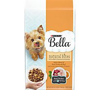 Bella Pampered Meals Dog Food Natural Bites With Real Chicken & Beef Bag - 48 Oz