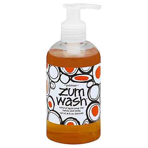 Zum Wash Patchouli Liquid Soap - 8 Fl. Oz.