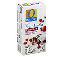 O Organics Organic Fruit Snacks Mixed Berry - 6-0.81 Oz