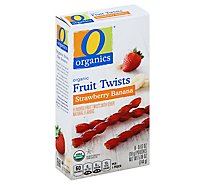 O Organics Organic Fruit Twists Strawberry Banana - 8-0.63 Oz