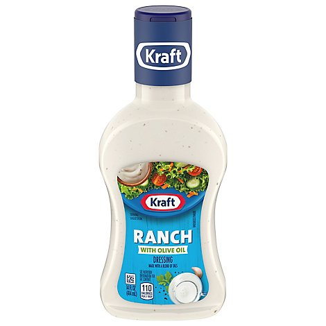 Kraft Dressing With Extra Virgin Olive Oil Ranch - 14 Fl. Oz.