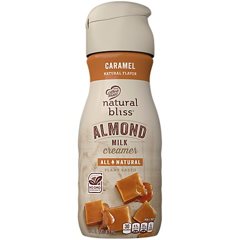 Coffeemate Natural Bliss Almond Milk Caramel - 16 Fl. Oz.