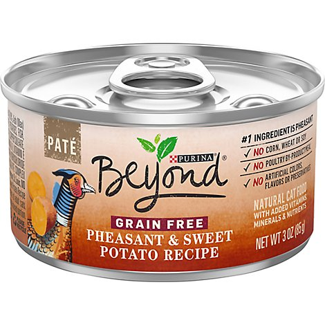 Beyond Cat Food Wet Grain Free Pheasant & Sweet Potato - 3 Oz