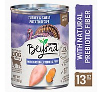 Beyond Dog Food Grain Free Ground Entree Turkey & Sweet Potato Recipe Can - 13 Oz