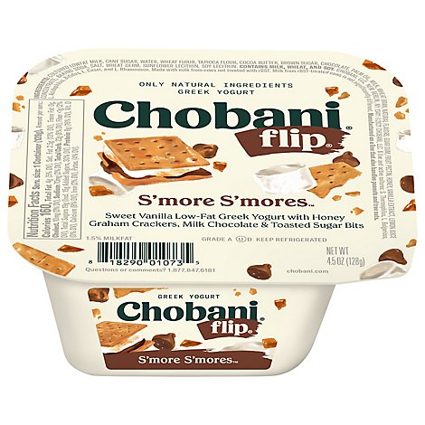 Chobani Flip Yogurt Greek Smore Smores - 5.3 Oz