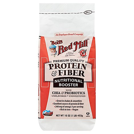 Bobs Red Mill Protein & Fiber Nutritional Booster - 6 Oz
