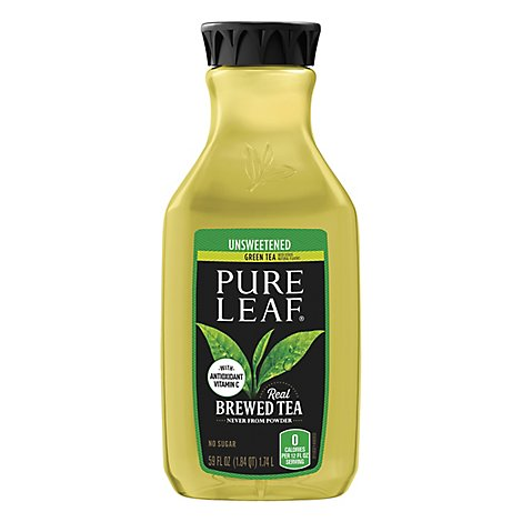 Pure Leaf Green Tea Unsweetened - 59 Fl. Oz.