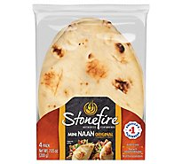 Stonefire Mini Authentic Naan Bread - 7.05 Oz