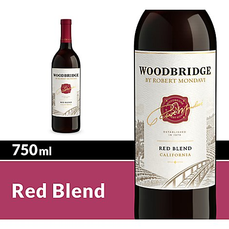 Woodbridge by Robert Mondavi Wine Red Blend Red - 750 Ml