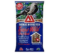 Thomas Moore Feed Bird Seed Texas Wild Bag - 20 Lb