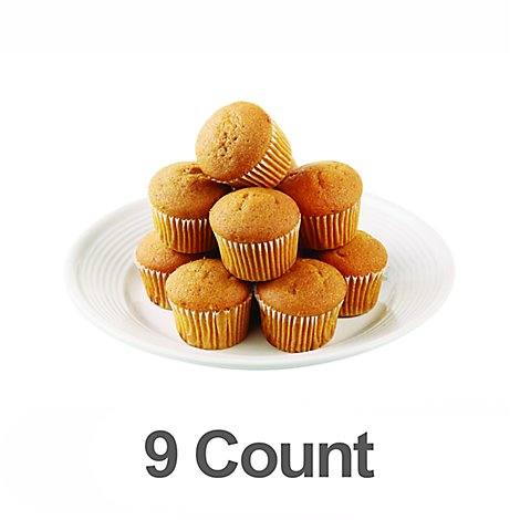 Bakery Muffin Pumpkin Inch 9 Count - Each