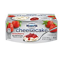 Philadelphia Cheesecake Cups Strawberry - 2-3.25 Oz