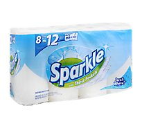 Sparkle Towel 8 Roll White Pas - 8 Roll