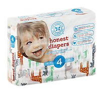 The Honest Company Giraffes Size 4l Diapers - 29 Piece