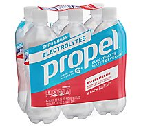 Propel Water Beverage with Electrolytes & Vitamins Watermelon - 6-16.9 Fl. Oz.