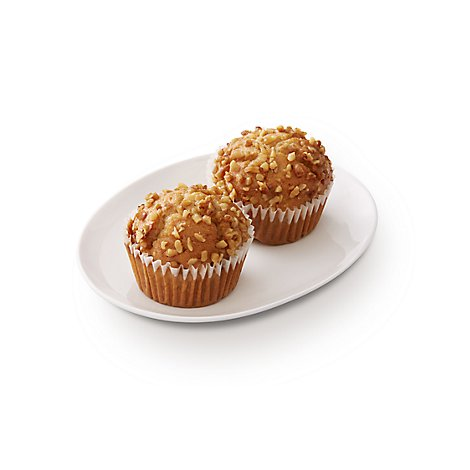 Bakery Muffins Banana Nut 2 Count - Each