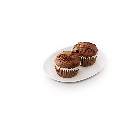 Bakery Muffins Bran 2 Count - Each