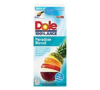 Dole 100% Juice Paradise Blend Chilled - 59 Fl. Oz.
