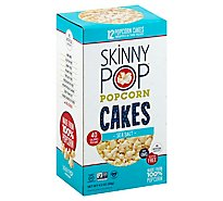SkinnyPop Popcorn Cakes Sea Salt Twin-Packs - 12-4.2 Oz