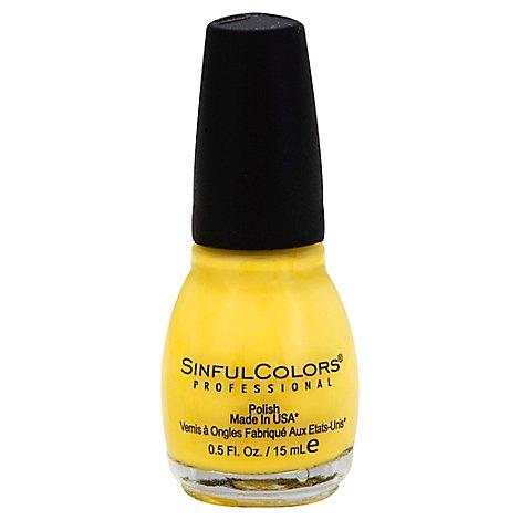 Sinfu Sinful Nail Color Yolo Yellow - Each