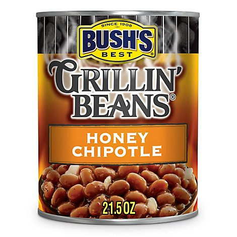 BUSHS Beans Grillin Honey Chipotle - 21.5 Oz