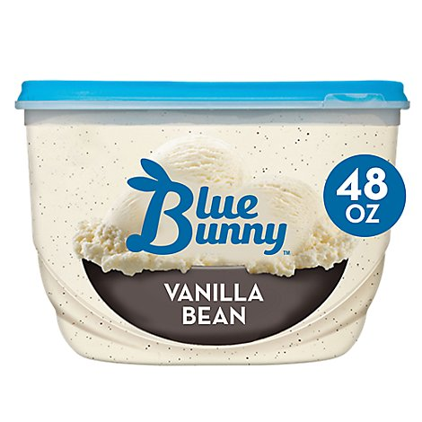 Blue Bunny Ice Cream Vanilla Bean - 48 Fl. Oz.