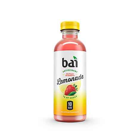 Bai Antioxidant Infusion Water Flavored Strawberry Lemonade - 18 Oz